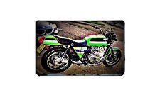 1980 z1300 Bike Motorcycle A4 Retro Metal Sign Aluminium