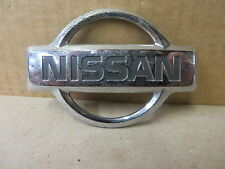 "NISSAN EMBLEM ORNAMENT "" NISSAN "" CHROME beveled edge design"