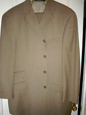 +Ultra Stylish, Amazing, Must Own STEVE HARVEY COLLECTION Super 120 Tan Suit-44R