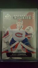 Mike Condon Rookie /39 SP Game Used 2015-16