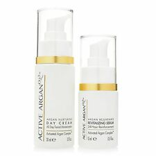 Active Argan Revitalizing Serum & Day Cream Discovery Power Duo New!
