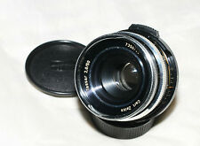 Carl Zeiss Jena Tessar 50mm f/2.8 M42 mount lens VERY RARE MODEL Bayonett filter