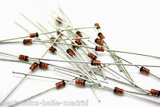 14x GENUINE FAIRCHILD 1N4738A 8.2V 1W ZENER DIODE DIODO DIODEN