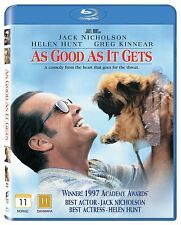As Good As It Gets (Region Free Nordic Import) Blu Ray