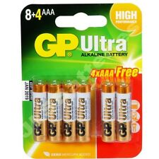48 GP Piles AAA LR03 Ultra lr03 1,5 v alcaline haute performance 4 packs de 12