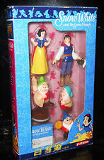 DISNEY BIANCANEVE E I SETTE NANI SNOW WHITE AND 7 ZWARFS BLISTER YUTAKA 1995