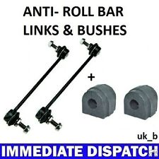 BMW 316 318 320 323 325 E46 Front Anti Roll Bar Sway bar 2 x Bushes & 2 x Links