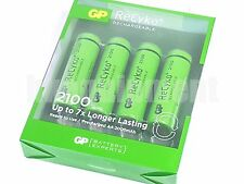 GP Recyko+ AA 2100 Rechargeable PreCharged LSD NiMH 1.2v Battery x4+CASE