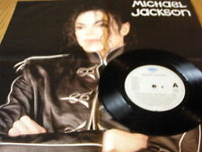 "MICHAEL JACKSON - PRELUDE / HEAL THE WORLD    7"" VINYL POSTER SLEEVE"