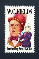 US Scott 1803 Performing Arts Series Issue W C Fields MLH