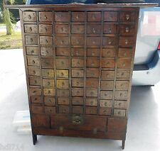 Antique korean or Chinese antique apothecary cabinet 18th century