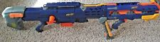 NERF N STRIKE LONGSHOT CS-6 RIFLE, PISTOL COMBO  2 Magazines Tested Works Great