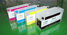 Refillable HP 950 Black HP 951 Cyan, Magenta, Yellow Cartridges