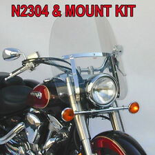YAMAHA XV1000 XV1100 VIRAGO 1984-1999 N.C. DAKOTA 4.5 WINDSHIELD N2304 & MOUNT