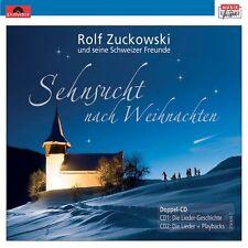 """ROLF ZUCKOWSKI """"SEHNSUCHT NACH WEIHNACHTEN"""" CD NEU"""