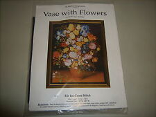 "The Fine Arts Heritage Society Cross Stitch Kit ""Vase with Flowers""~Jan Bruegel"