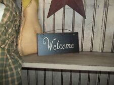 """Wood Signs Prim Country Custom """"Handmade"""" Great for Wreath's & Grapevine Decor"""