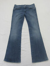 "7 For All Mankind Women's ""A"" Pocket Slight Flare Denim Jeans 31"