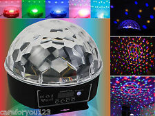 Magic Ball DMX512 Stage Lighting Digital LED RGB Crystal DJ Disco Effect Light