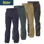 *NEW!* Bisley 8 POCKET 100% COTTON DRILL CARGO PANTS ALL COLOURS BPC6007
