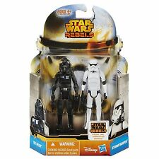 Star Wars Mission Series Rebels TIE Pilot Stormtrooper Action Figure 2pk MS17