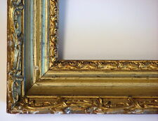 "FRAME HUDSON RIVER COVE 19th C. ORNATE GOLD APPLIED ORNAMENT FITS 14"" x 10"""