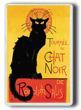 CHAT NOIR Magnet, Black Cat Chat Noir FRIDGE MAGNET JUMBO SIZE