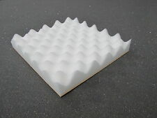 ACOUSTIC FOAM TREATMENT SOUND PROOFING 24 TILES in white