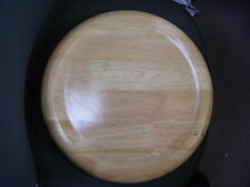 Large Wood Plate / Serving / Bread / Pizza Board / Table Protective Mat