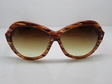 NEW DITA SERAPH 22010D Brown Feather/Brown Gradient 60mm Sunglasses w/ Box