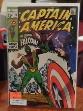 VINTAGE MARVEL 1969 CAPTAIN AMERICA #117 1ST APPEARANCE OF THE FALCON GOOD+ G+
