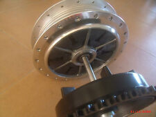 Norton Commando NEW Rear Cush Drive Hub with ONE PIECE AXLE