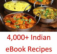 4,000+ Indian eBook Cookbooks & Recipes On One DVD Rom