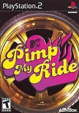MTV's PIMP MY RIDE Sony Playstation 2 PS2 Game COMPLETE