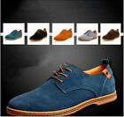 NEW 2016 Suede European style leather Shoes Men's oxfords Casual  Fashion