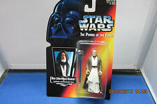 1995 Star Wars The Power of the Force Ben Obi-Wan Kenobi NIP  Kenner  Red Card