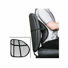 Mesh Lumbar Lower Back Support Cushion Pain Relief Seat Posture Corrector  Car