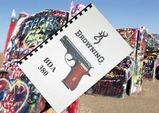 BROWNING BDA 380 pistol Owners Gun Manual