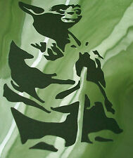 NEW M2 AIRBRUSH STENCILS / MASKS STAR WARS YODA Paint Craft Template Movie