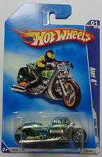 2009 Hot Wheels Airy 8 Col. #137 (Green Version)