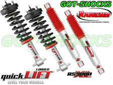 RANCHO RS999945/RS999946/RS999384 FRONT QUICKLIFT LOADED/REAR RS9000XL SHOCK KIT