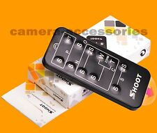 Wireless IR Infrared Remote Control for Canon EOS 60D 60Da 70D 80D D-SLR camera