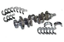 SBC SCAT 350 CRANKSHAFT 2PC KING & ENGINETECH BEARINGS 9-10442-KIT
