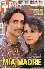 rivista GUIDA TV ANNO 2010 NUMERO 46 MARCO COCCI E BIANCA GUACCERO