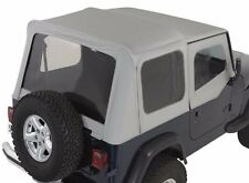 Smittybilt Replacement Soft Top in Gray Denim 1988-1995 Jeep Wrangler YJ 9870211