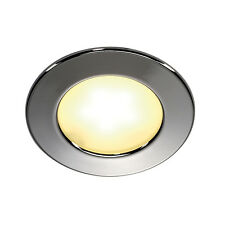 Intalite DL 126 LED Downlight, redondo, cromado, 3w LED, blanca cálida, 12V