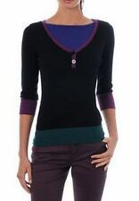 BYBLOS cashmere cachemire blend sweater jumper pullover pull maglia donna BNWT