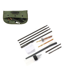 New 10 Pieces Cleaning Kit Rod Brush For .22 22LR .223 556 Rifle Gun W/Nylon Bag