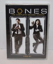 NEW SEALED Bones - Complete Season 2 DVD 2009 6-Disc Set TV Show FREE Shipping!