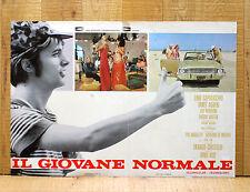 IL GIOVANE NORMALE fotobusta poster Lino Capolicchio Janet Agren Viaggio Auto